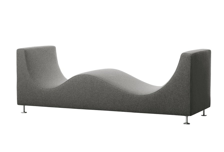 Three Sofa de Luxe sofa z oparciem