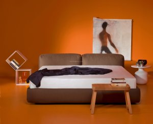 Superoblong bed łóżko 166 cm